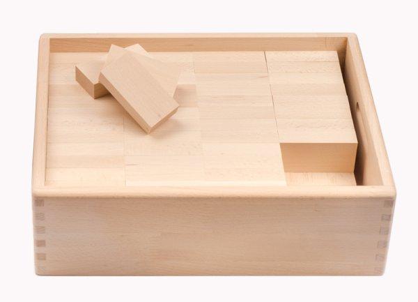 画像1: レンガブロック・96・木箱入り (1)