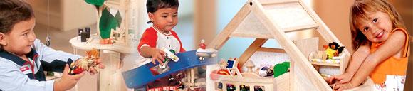 Plan Toys・プラントイ・ドールハウス・家具・木のおもちゃ・積み木